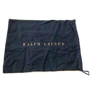 Ralph Lauren cloth Dust bag for shoes or handbag